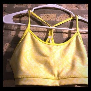 Lululemon Yellow Bra-Size 6